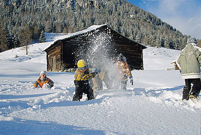 Straganzhof - Kinderspass im Winter